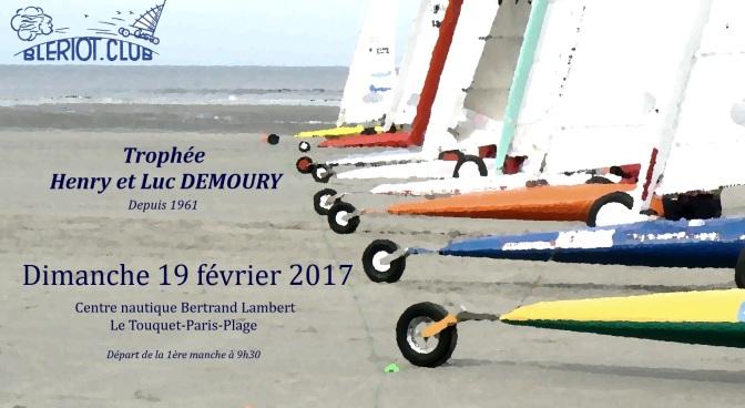 Trophée DEMOURY 2017 – Programme